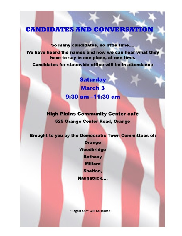Candidates and Conversation March 2018